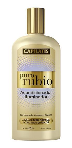 Acondicionador Capilatis Iluminador Puro Rubio 420 Ml