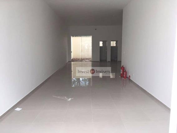 Loja Comercial Para Locação, Jardim Satélite, São José Dos Campos - Ca0901. - Ca0901