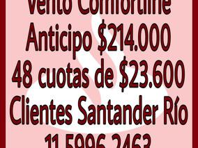 Volkswagen Vento 1.4 Comfortline 150cv At Santader Rio Auto