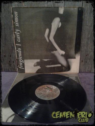 Carly Simon - Playing Possum - Vinilo / Lp