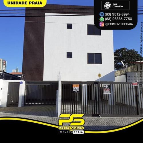 Apartamento Com 1 Dormitório À Venda, 38 M² Por R$ 160.000,00 - Manaíra - João Pessoa/pb - Ap4645