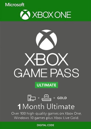Tarjeta Xbox Game Pass Ultimated !!! 1 Mes
