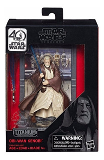 Star Wars 40 Aniversario Obi Wan Kenobi The Black Series