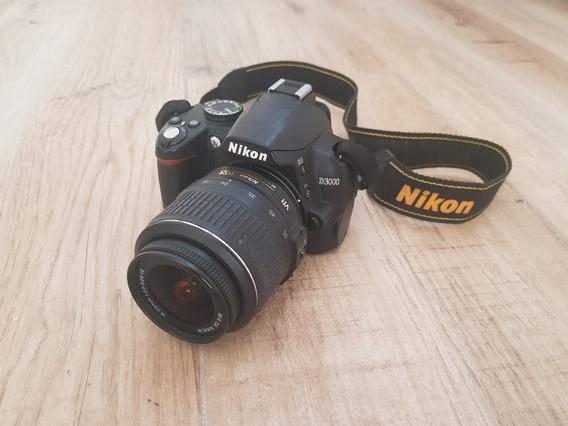Câmera Nikon D3000 + Lente 18-55mm + Maleta De Transporte