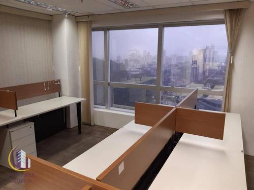 Imagem 1 de 11 de Sala Para Alugar, 214 M² Por R$ 9.664,65/mês - Vila Yara - Osasco/sp - Sa0101