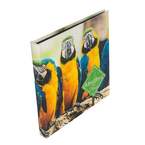 Álbum De Fotos - 48 Páginas - Araras Amazônia Ful S/juros