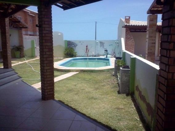 Vende-se Excelente Casa Com Piscina E Um Terreno Em Tibau - Ca0038