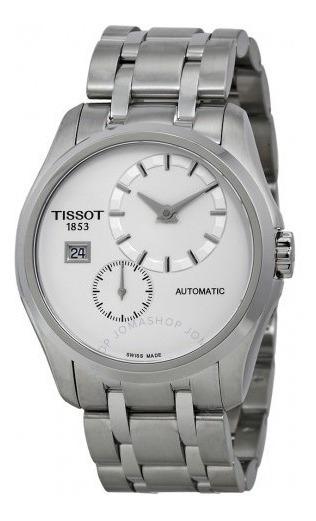 Relógio Tissot Masculino Couturier Prata/branco Automático