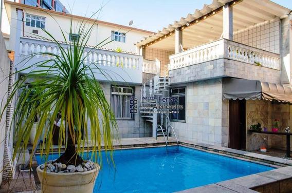 Casa Com 3 Dormitórios À Venda, 224 M² Por R$ 1.300.000,00 - Boqueirão - Santos/sp - Ca0041
