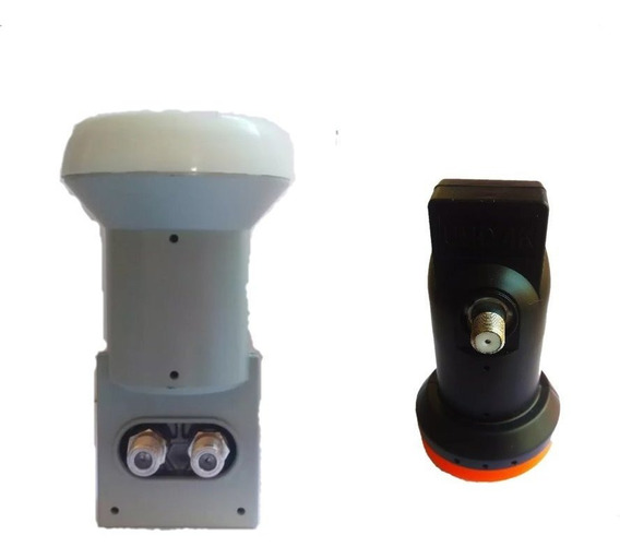 Kit Com 10 Lnb Simples Universal E 10 Lnb Duplo Universal