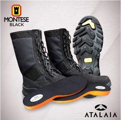 Bota Tática Militar Atalaia Montese - Black - S/zíper Agente