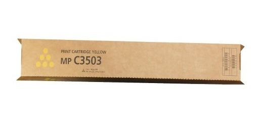 Toner Ricoh Mp C3503 C3003 Yellow - Compativel