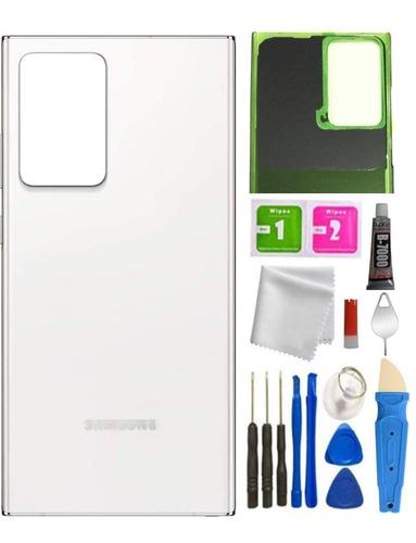Repuesto Tapa Trasera Samsung Note 20 Ultra Blanco