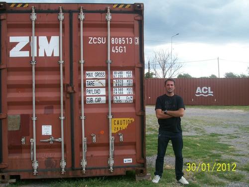Contenedores Marítimos / Usados 40' High Cube