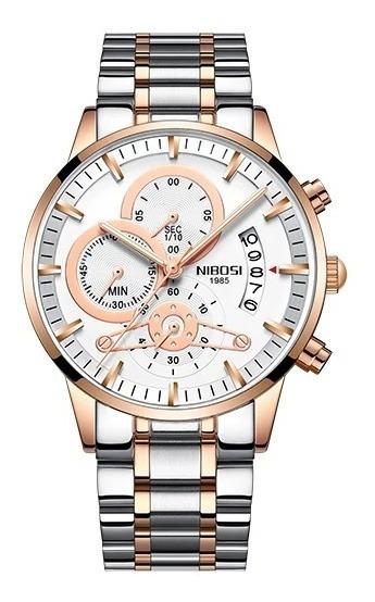 Relógios Nibosi Funcional Resistente A Riscos Pronta Entrega
