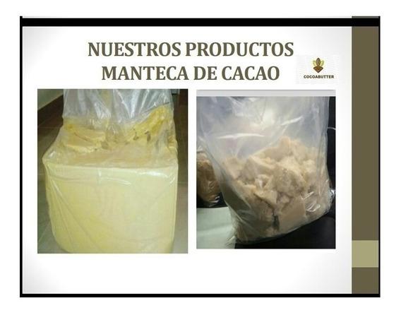 Manteca De Cacao Distribución El Kg A $12.00