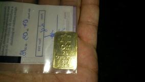 Ouro Puro 24k 2g Em Barra Pureza 999 Certificada