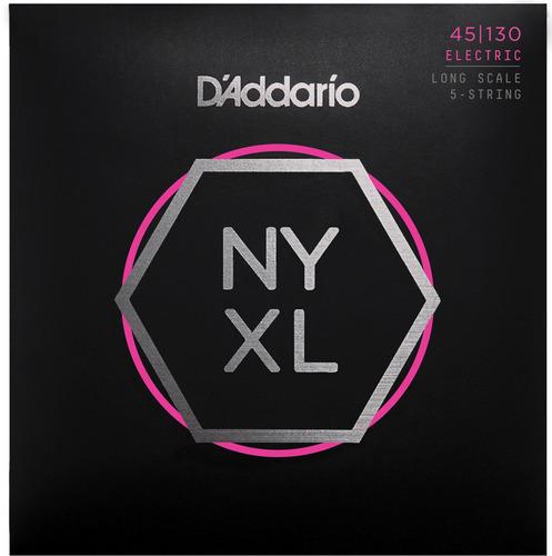 D'addario Cuerdas Nyxl Para Bajo 45-130 Long Scale 5-str