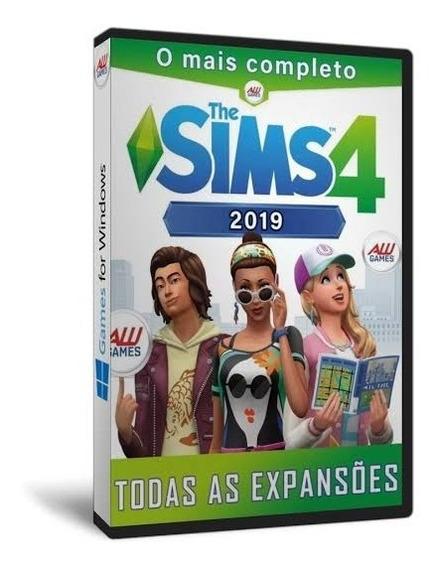 The Sims 4 Para Pc - Inclui Jogo E Expansões - Mídia Digital