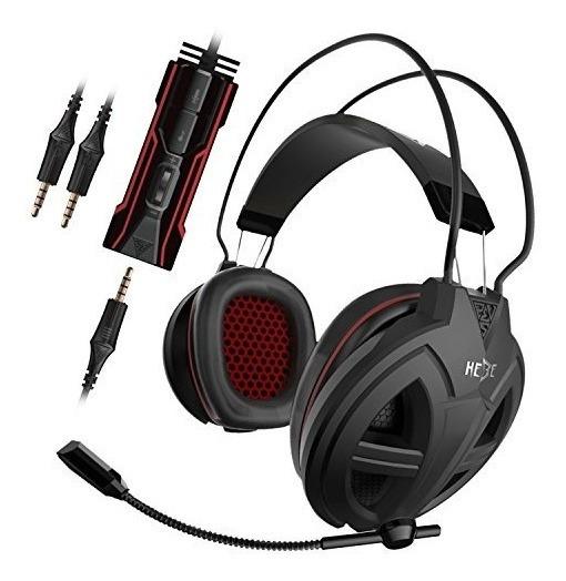 Gamdias Hebe V2 Gaming Headset Con Conector De 3.5 Mm, Contr