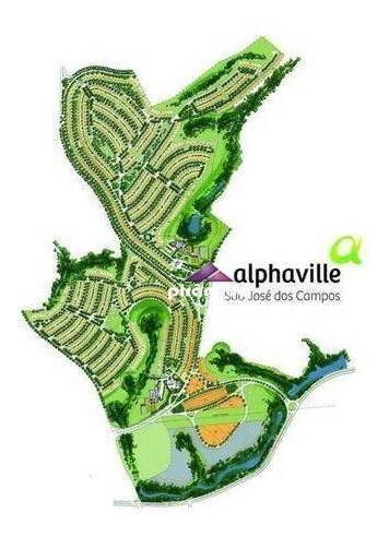 Terreno À Venda, 473 M² Por R$ 450.000,00 - Condomínio Residencial Alphaville Ii - São José Dos Campos/sp - Te1084