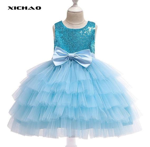 Niñas Princesa Vestido De Lentejuelas Vestido Para Niños