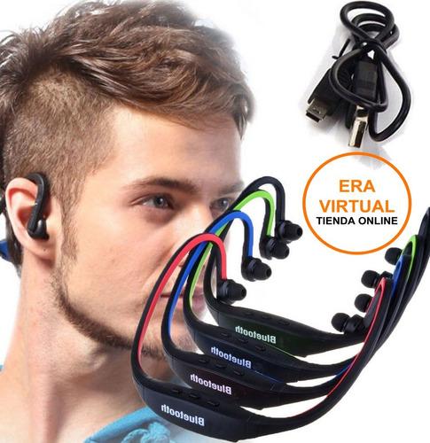 Auricular Bluetooth Deportivo, Ideal Para Deportes Running