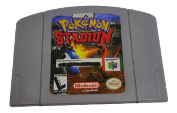 Jogo Cartucho Pokémon Stadium - Nintendo 64