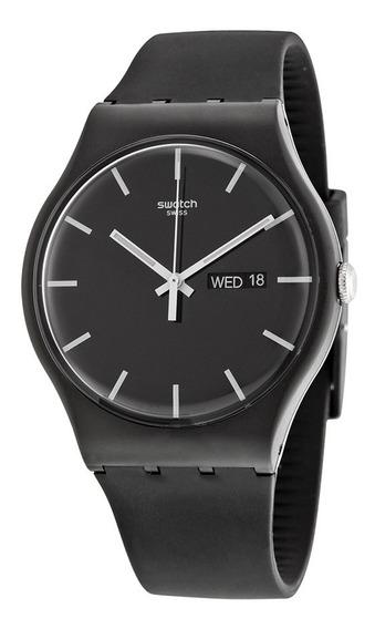 Relógio Swatch Mono Black Unissex Preto Suob720