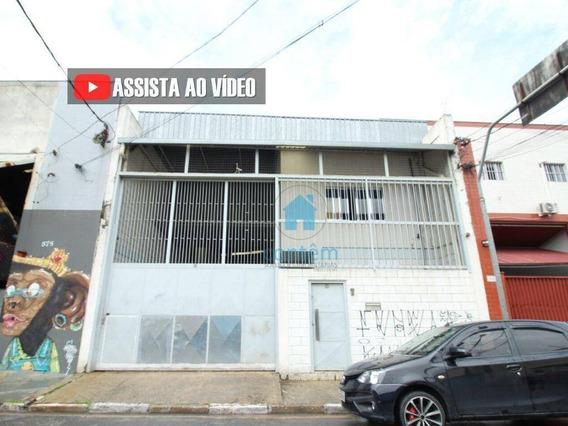 Ga0022- Galpão Para Alugar, 550 M² Por R$ 10.000/mês - Jardim Piratininga - Osasco/sp - Ga0022
