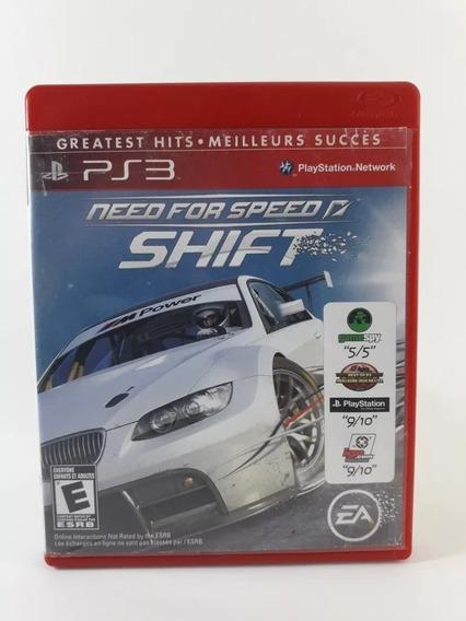 Need For Speed Shift Playstation 3 Ps3 Mídia Física Original