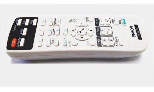 Controle Remoto Projetor Epson Original S12 (c3)