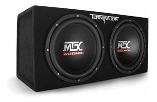 Mtx Audio Terminator Series Tne212d 1,200-watt