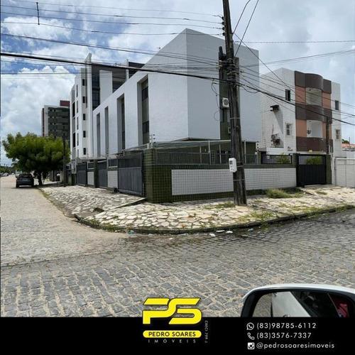 Apartamento Com 3 Dormitórios À Venda, 100 M² Por R$ 300.000 - Bessa - João Pessoa/pb - Ap3910