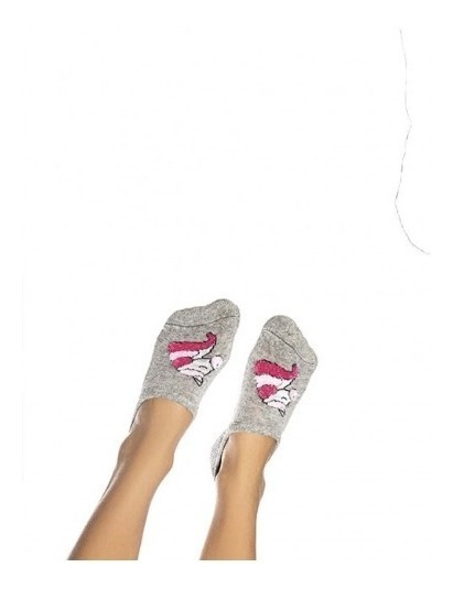 Medias Cocot Invisibles Algodón Con Chenille Niñas Art.3653