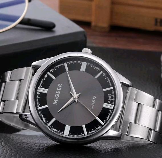 Relógio Aço Inoxidável