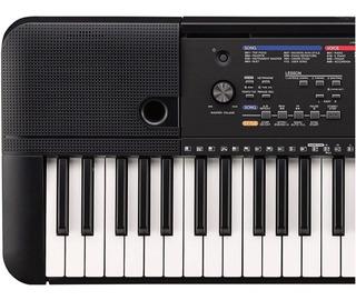 Piano Yamaha Psr E263 Con Forro, Dvd, Atril, Pa-3 Citimusic