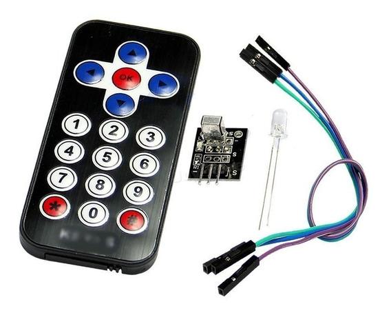 Controle Remoto Infra Vermelho E Receptor Para Arduino