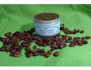 Crema Exfoliante-revitalizante-anticelulitis De Cafeynaranja