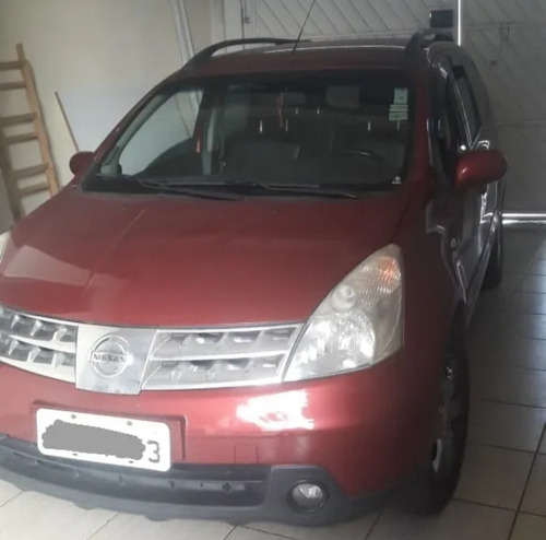 Imagem 1 de 8 de Nissan Grand Livina 2011 1.8 Sl Flex Aut. 5p