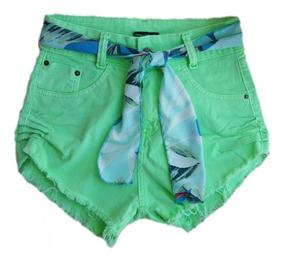 Short Jeans Hot Pants Variados Com E Sem Lycra Barato