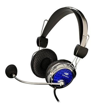 Fone De Ouvido Headset Gamer Pterodax C3tech Mi-2322rc