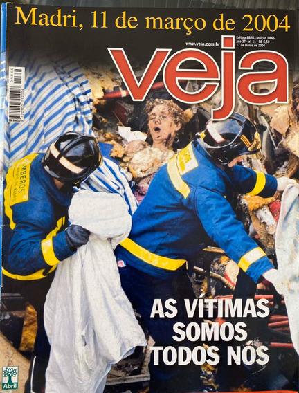 Revista Veja Nr 1845 17/03/2004. Atentado Em Madrid