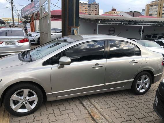 Civic Lxs 1.8 Flex Segundo Dono 32500 A Vista