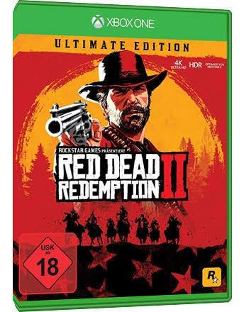 Red Dead Redemption 2 Ultimate M Digital + 01 Jogo Brinde