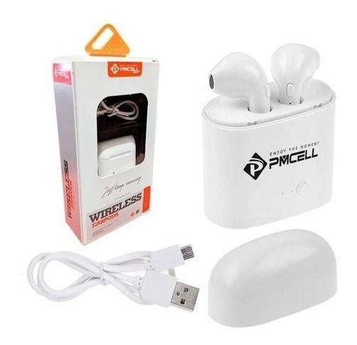 Fone Ouvido Bluetooth Wireless Earpods Pmcell Hp-26 Novo
