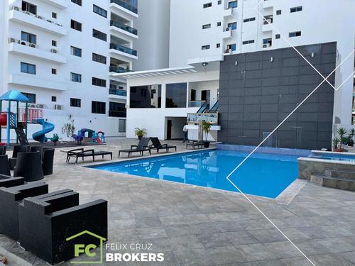 Naco Apartamento Con Magnífica Terraza Y Área Social