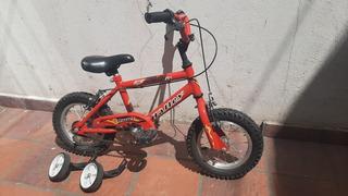 Bicicleta Halley Rodado 12 Bmx Para Niños Muy Buen Estado!!!