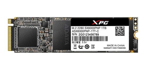 Ssd Adata Xpg Sx6000 Pro 1tb Pcie M.2 Nvme 2280 - Lacrado