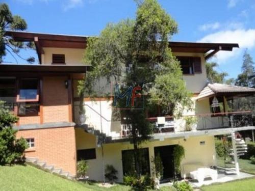 Imagem 1 de 4 de Excelente Casa Alto Padrão Muito Ampla E Com 600 M2 A.u. Em Véu Da Noiva - 4137